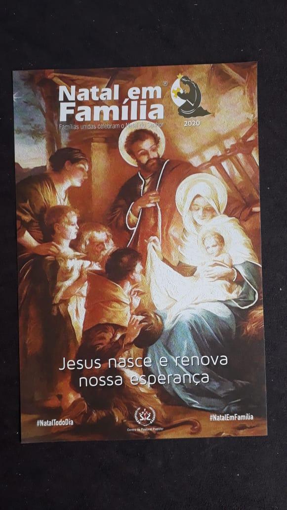 Natal em Familia - Jesus nasce e renova nossa esperança  - VindVedShop - Distribuidora Catolica