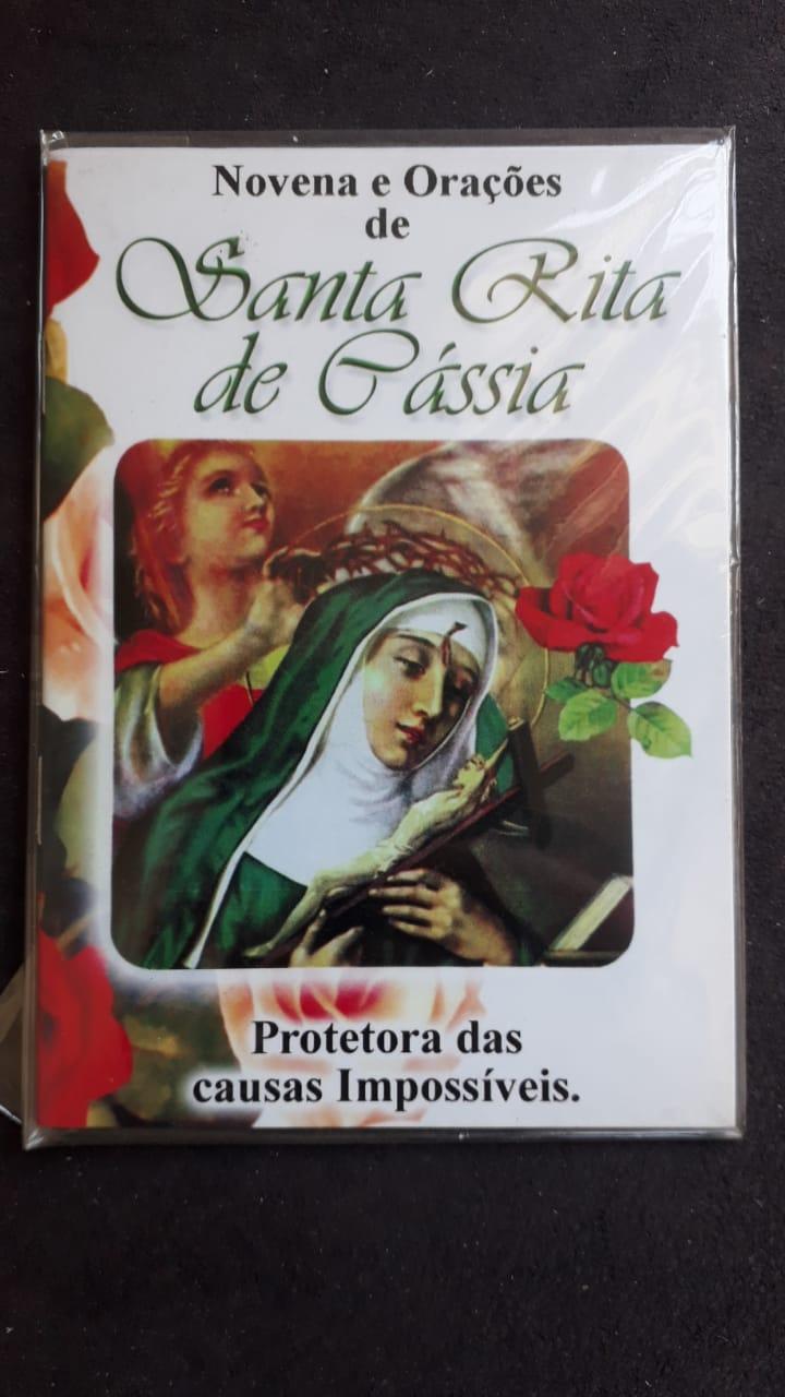 Novena e Orações de Santa Rita de Cassia  - VindVedShop - Distribuidora Catolica