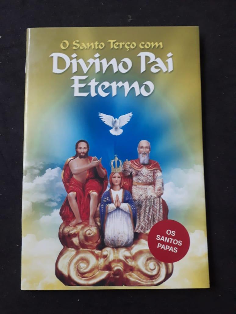 O Santo Terço com Divino Pai Eterno  - VindVedShop - Distribuidora Catolica