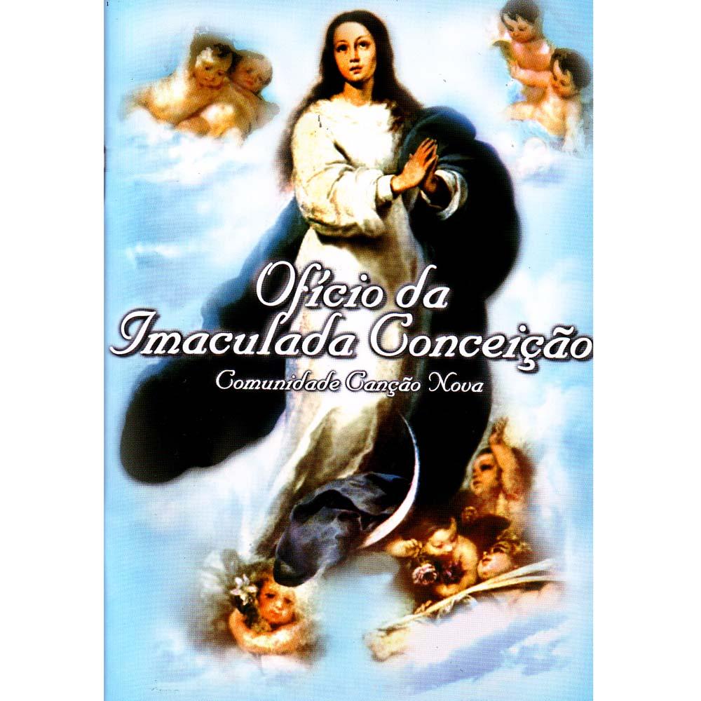 Oficio da Imaculada Conceição - Canção Nova  - VindVedShop - Distribuidora Catolica
