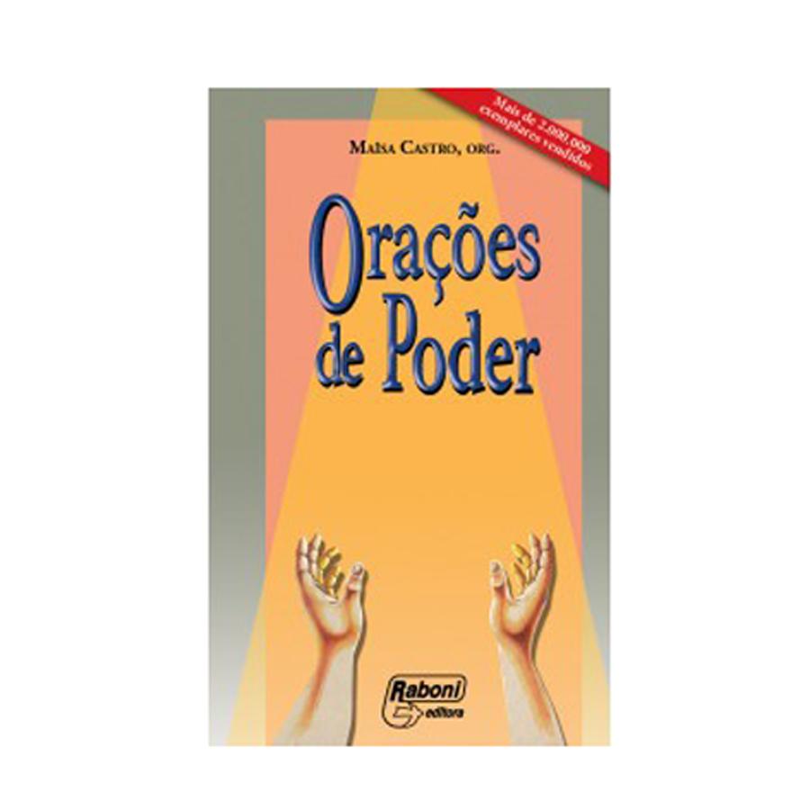 Orações de Poder Vol I - Maisa Castro  - VindVedShop - Distribuidora Catolica