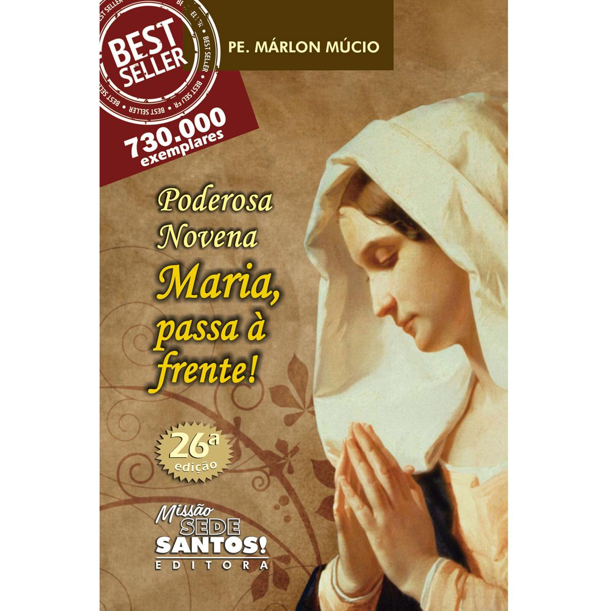 Poderosa Novena Maria Passa na Frente  - VindVedShop - Distribuidora Catolica