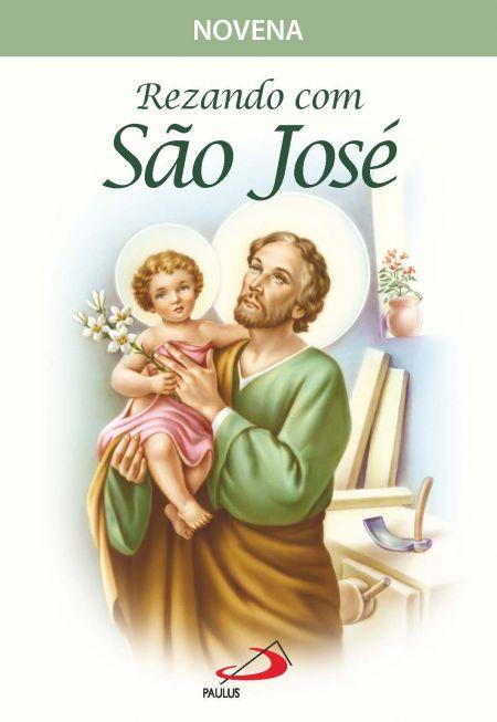 Rezando com São José - Novena  - VindVedShop - Distribuidora Catolica