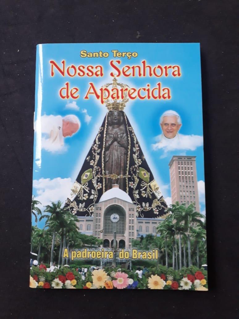 Santo Terço Nossa Senhora de Aparecida  - VindVedShop - Distribuidora Catolica