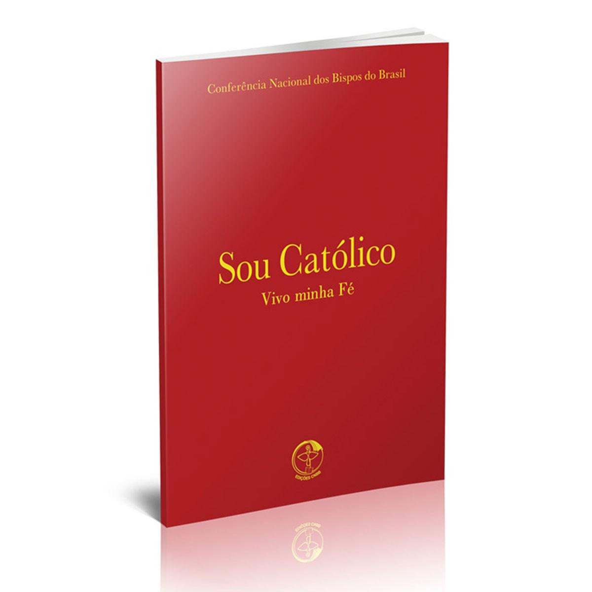 Sou Catolico Vivo Minha Fé - bolso  - VindVedShop - Distribuidora Catolica