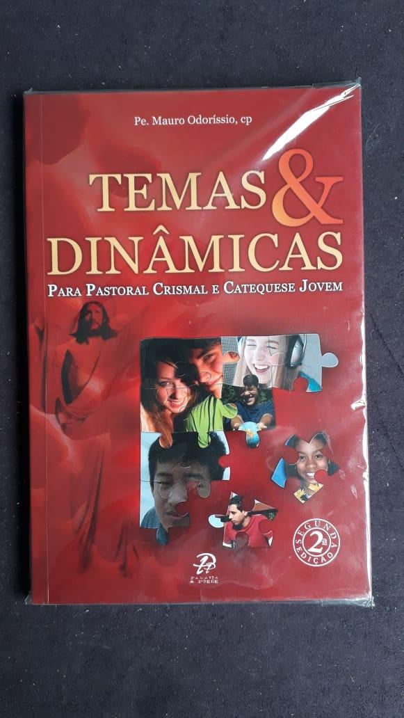 Temas e Dinamicas - Para Pastoral Crismal e Catequese Jovem  - VindVedShop - Distribuidora Catolica