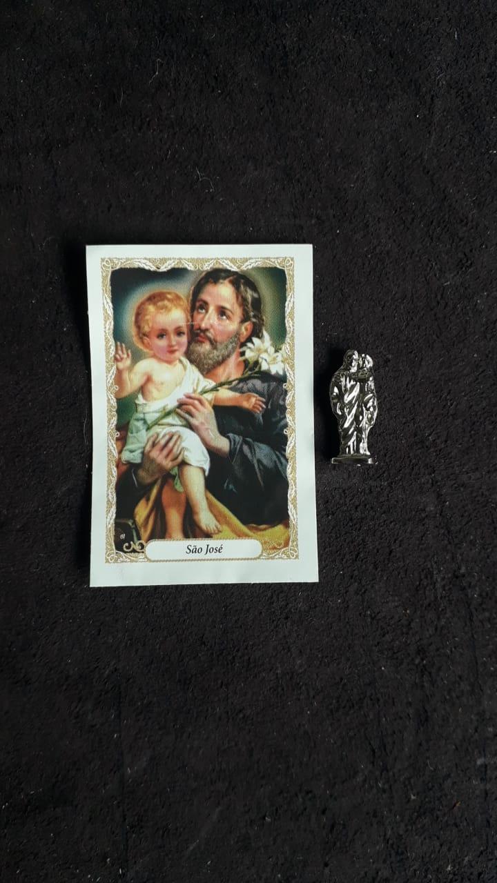 WE25 - Imagem Metal 25mm c/ Oração Variados  - VindVedShop - Distribuidora Catolica