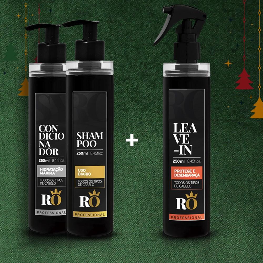 Combo Natal Shampoo + Condicionador - Ganhe o Leave-in RO