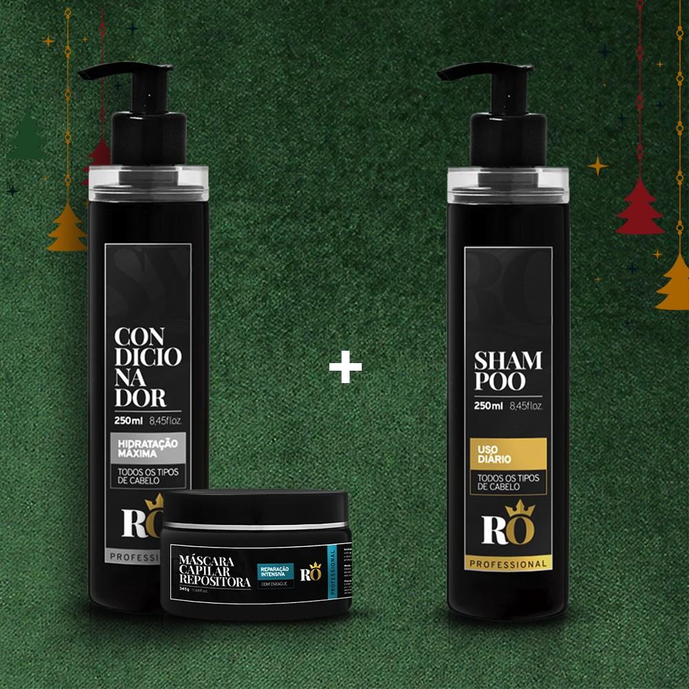 Combo Natal Condicionador + Máscara RO 245g - Ganhe o Shampoo