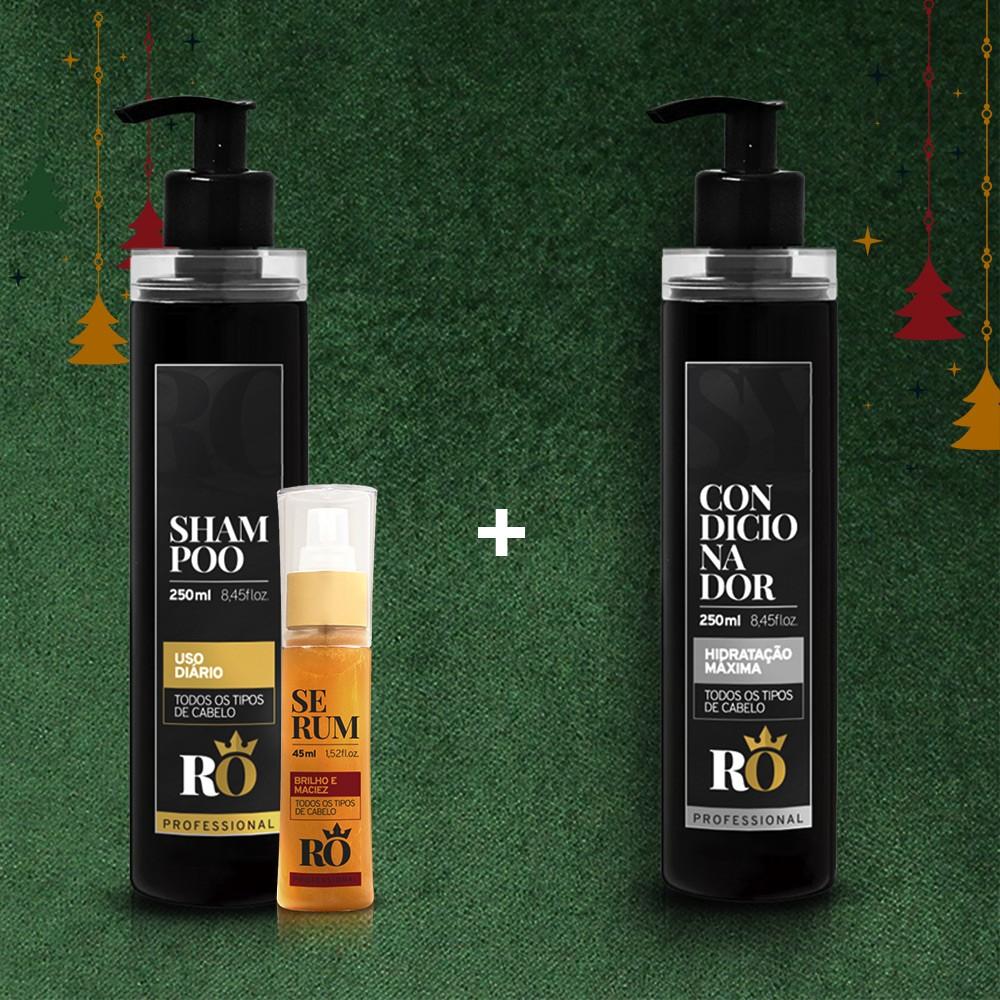 Combo Natal Shampoo + Serum RO - Ganhe o Condicionador