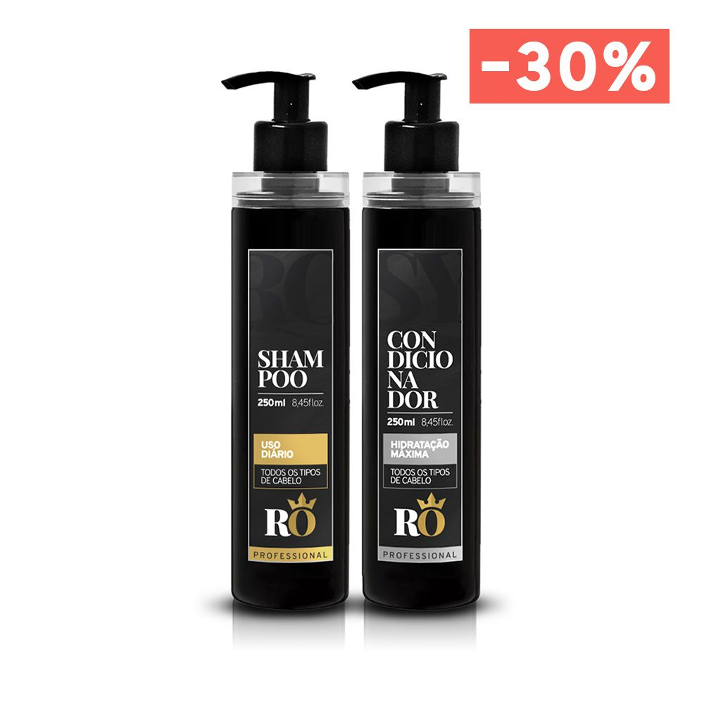Combo Shampoo + Condicionador RO 250ml (BLACK FRIDAY)