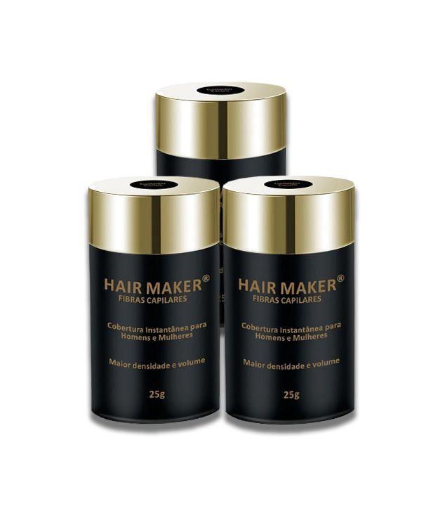 [Promoção] Kit com 3 Hair Makers Fibras Capilares (Vencimento - Agosto/2020)