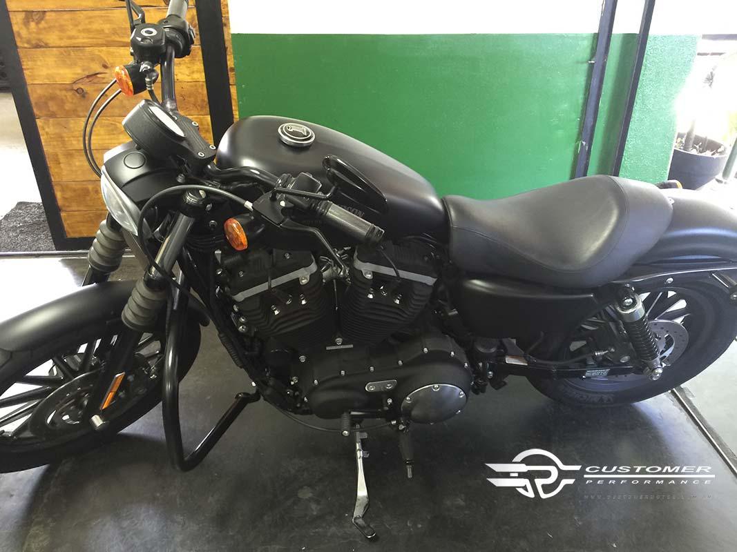 Protetor de Motor para Harley Davidson Sportster Iron 883 Tradicional - Customer