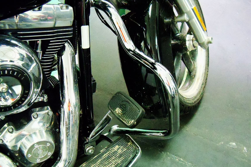 Protetor de Motor para Harley Davidson Lowrider Switchback Moustache c/ Borracha de apoio - Customer