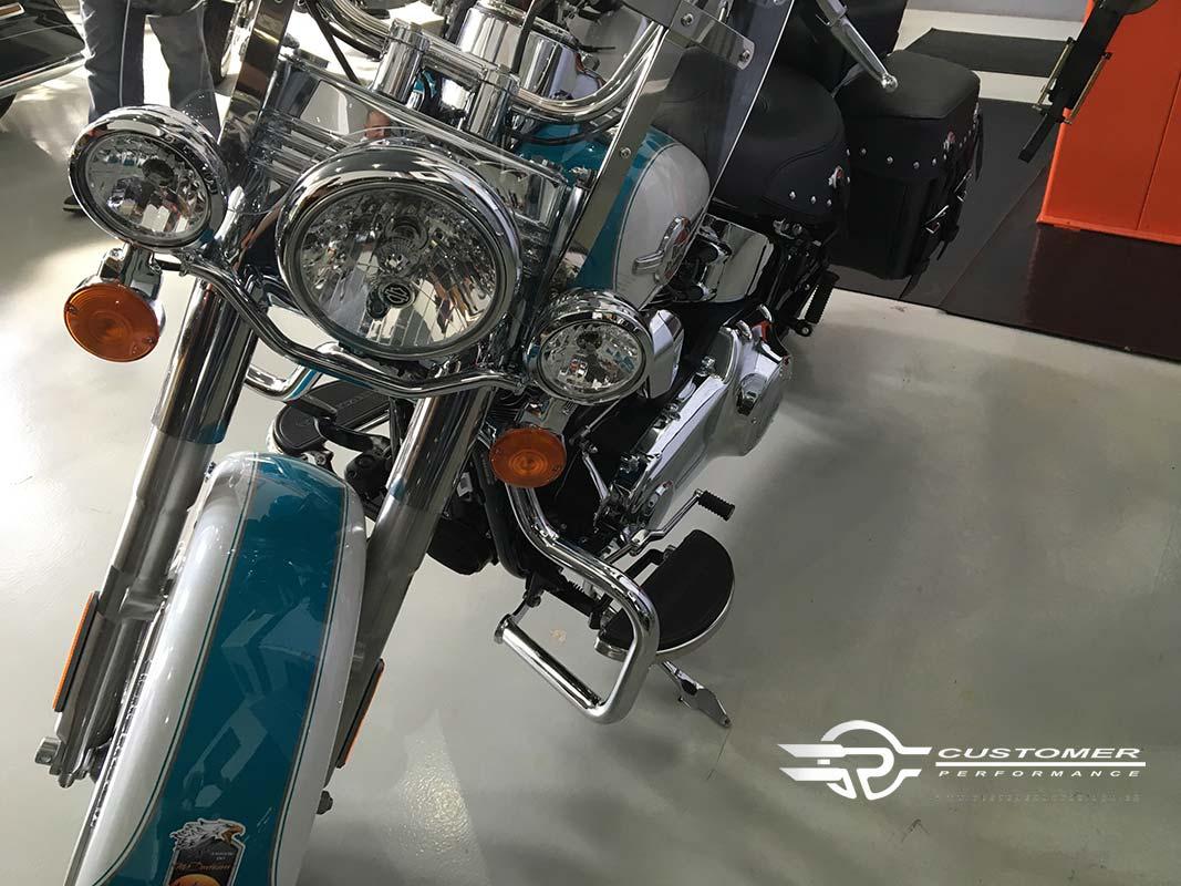 Protetor de Motor para Harley Davidson Softail Heritage Moustache - Customer