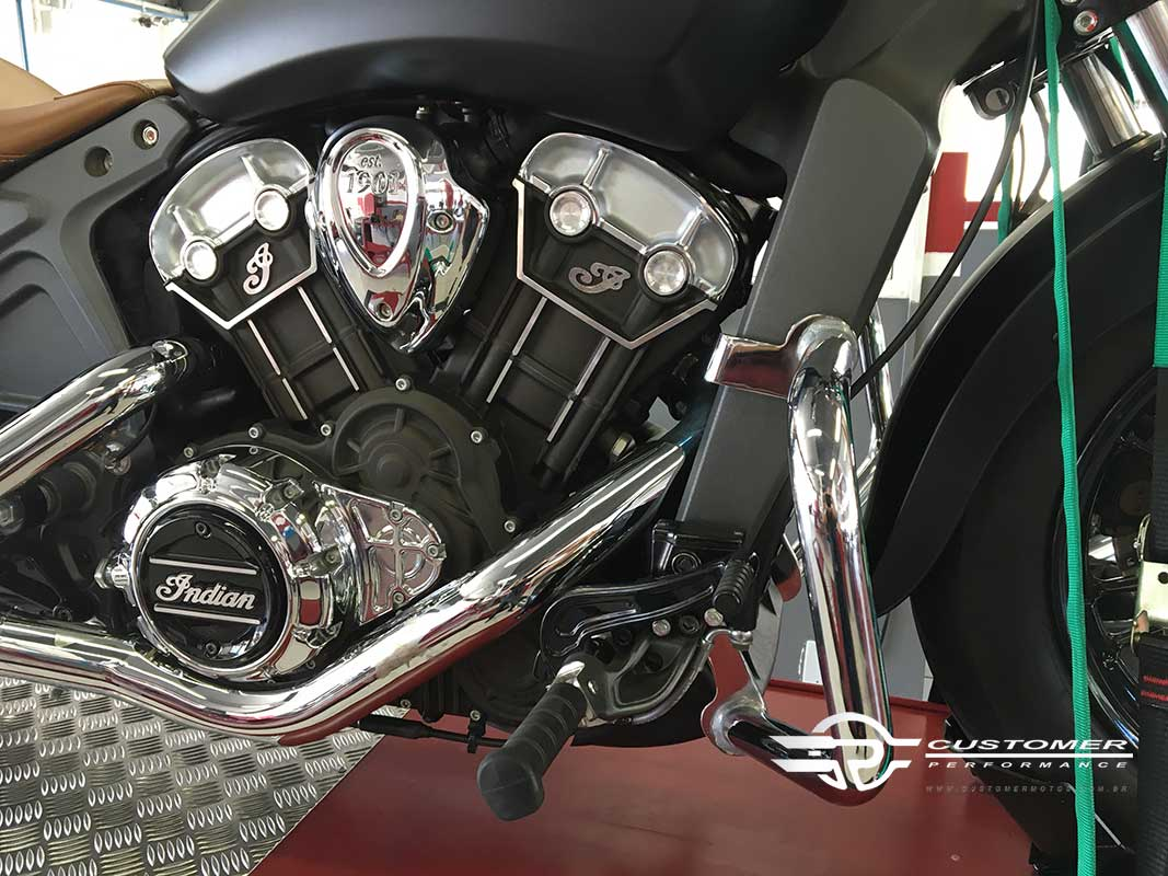 Protetor de Motor para Indian Scout Bi-Partido - Customer