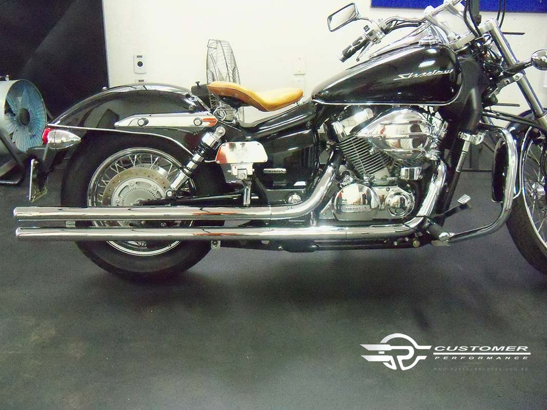 Protetor de motor Honda Shadow 750c esp - Customer