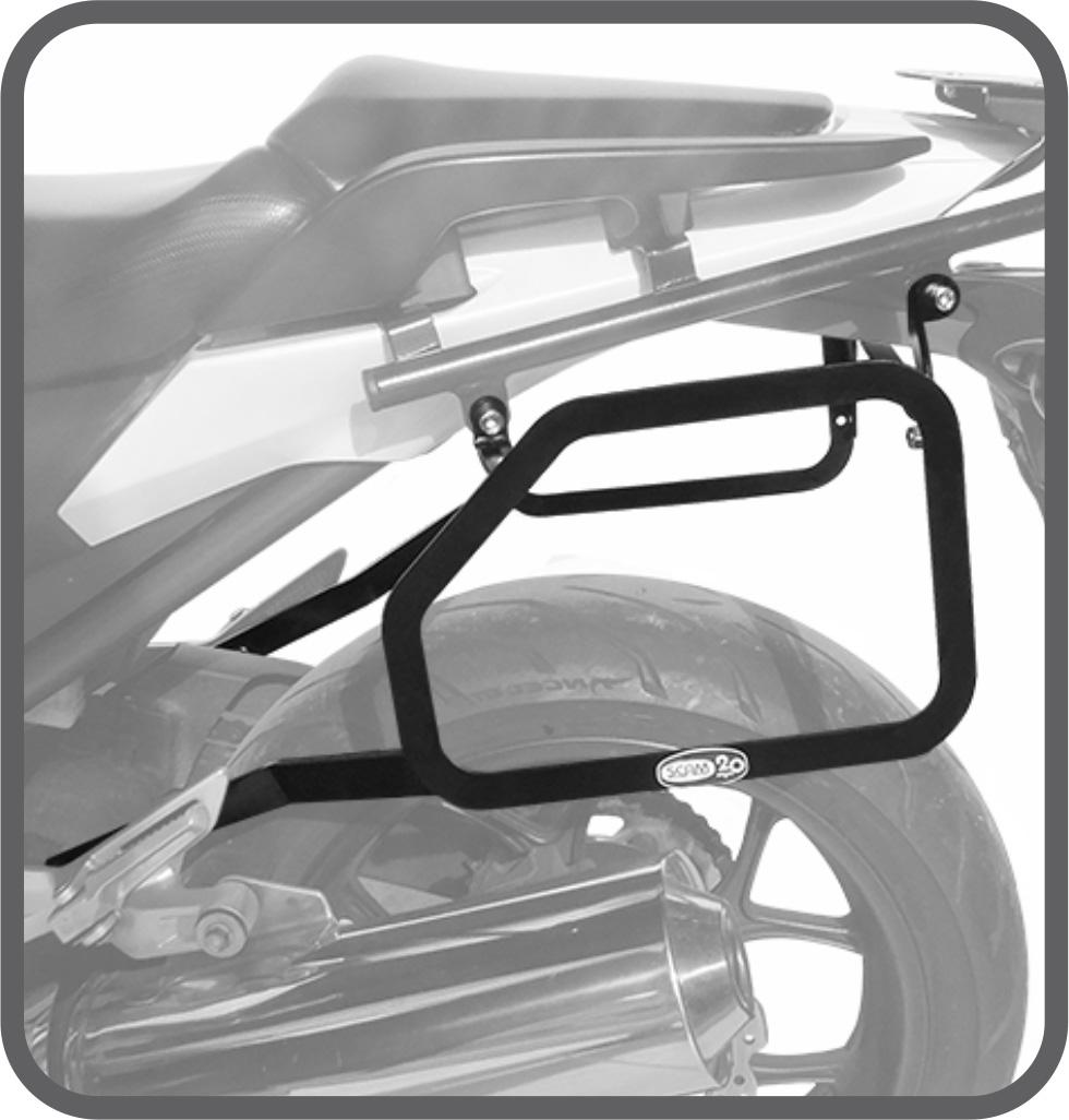 Afastador de Alforje para Honda NC700 / 750X até 2015 - Scam