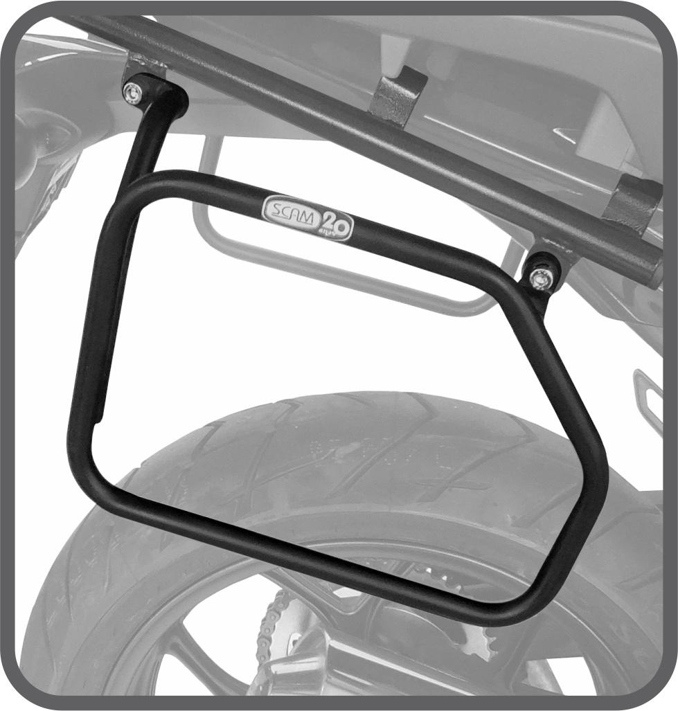 Afastador de Alforje Tubular para Honda NC700 / 750X até 2015 - Scam