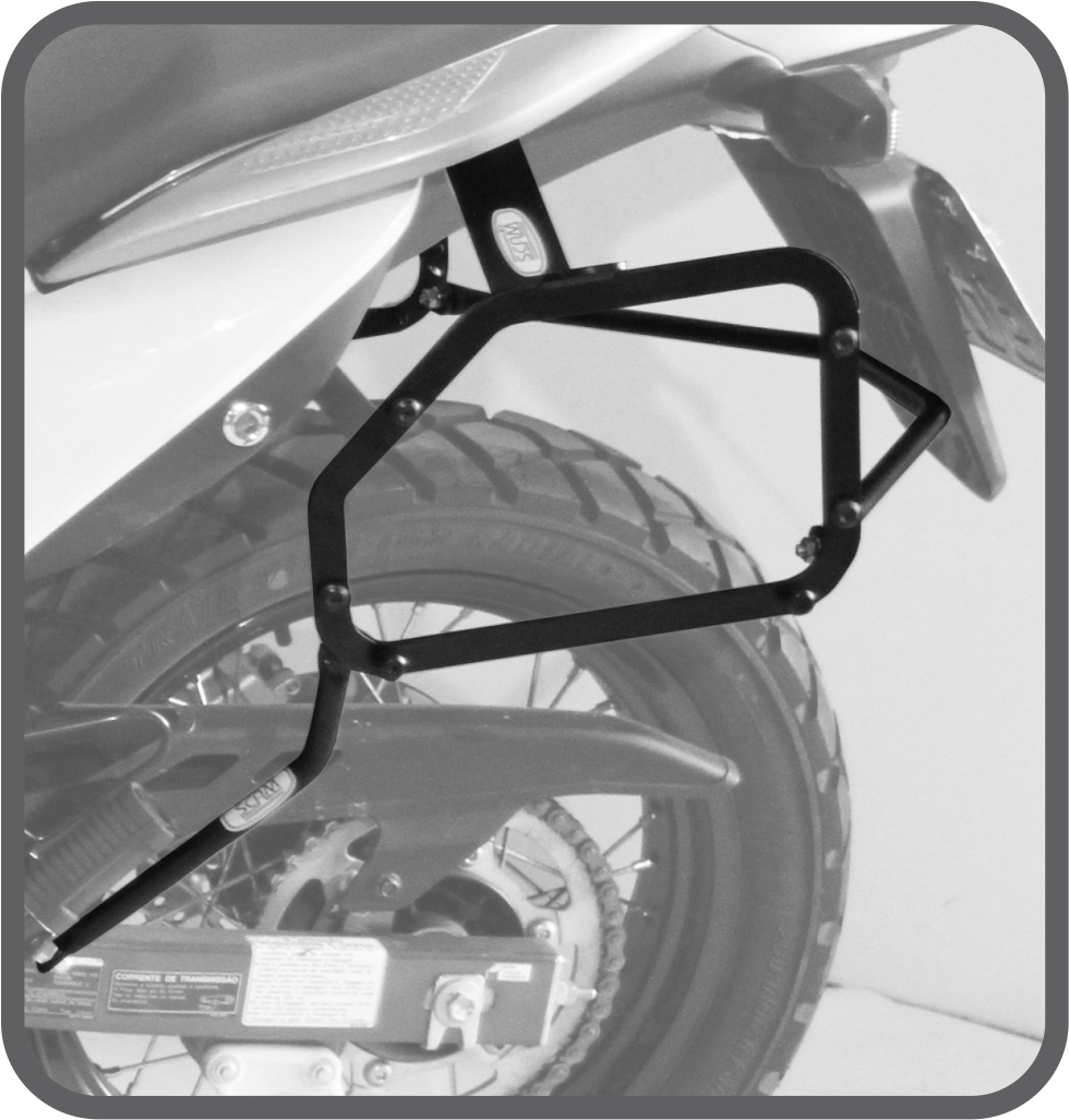 Suporte de Baú Lateral para Honda XL 700V Transalp - Scam
