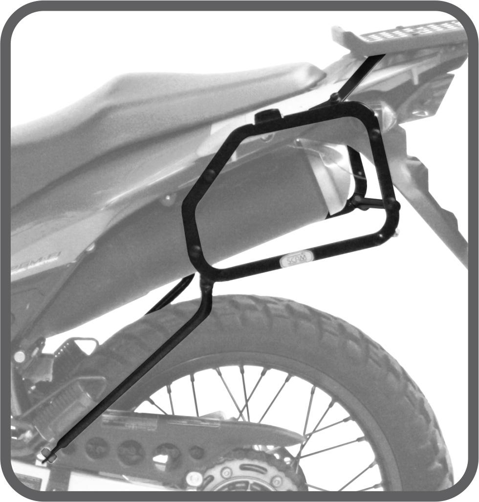 Suporte de Baú Lateral para Honda XRE 300 - Scam