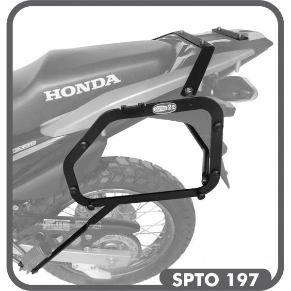 Suporte de Baú Lateral para Honda XRE 190 - Scam
