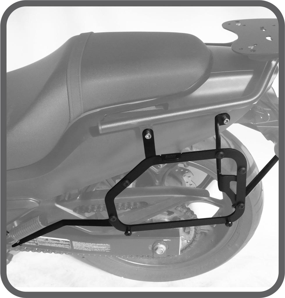 Suporte de Baú Lateral para Honda CTX 700N - Scam