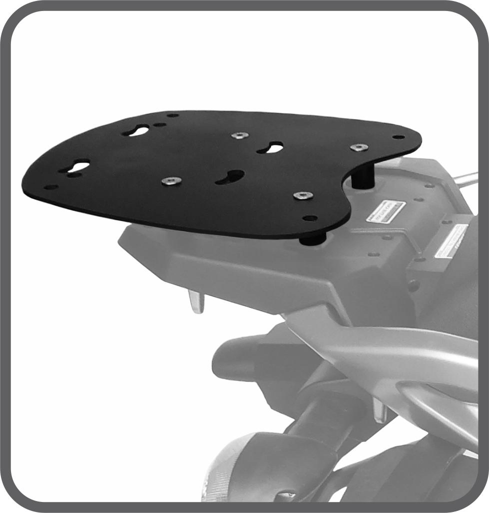 Bagageiro Suporte de Baú para Yamaha Tenere 250 2016 - Scam
