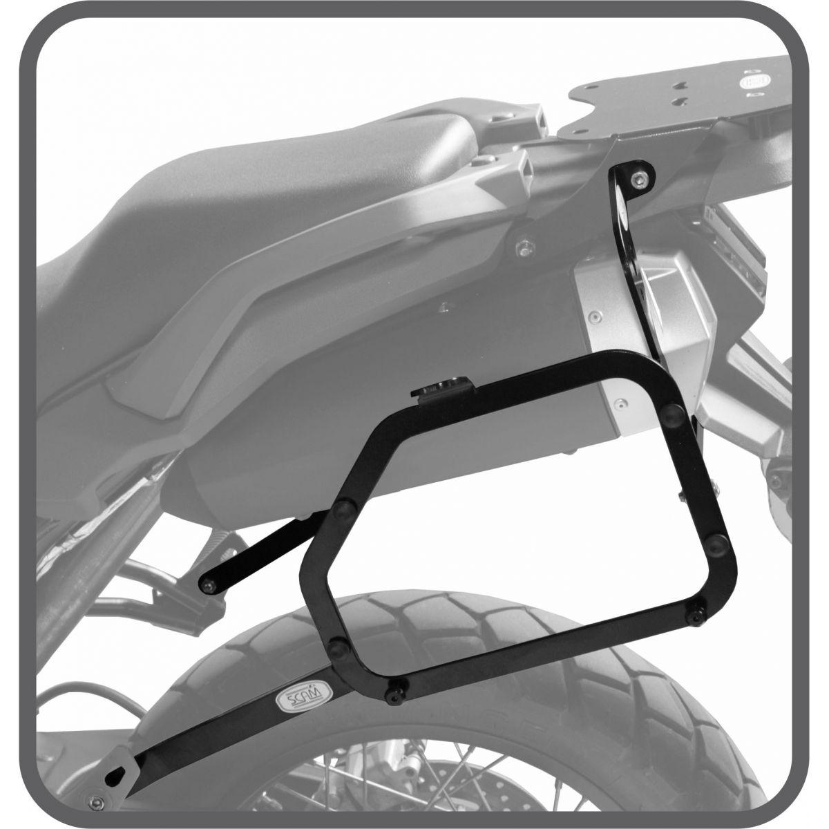 Suporte de Baú Lateral para Yamaha Tenere 660 - Scam