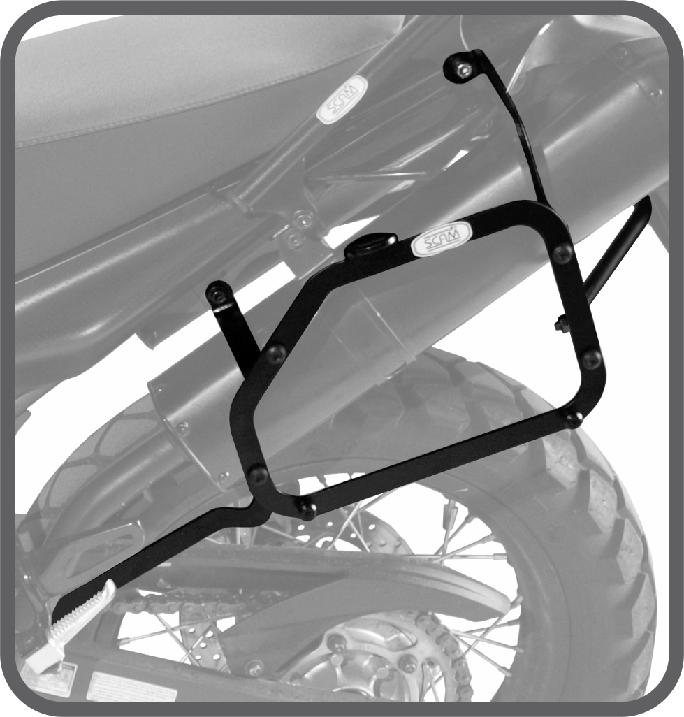 Suporte de Baú Lateral para Yamaha XT660R - Scam