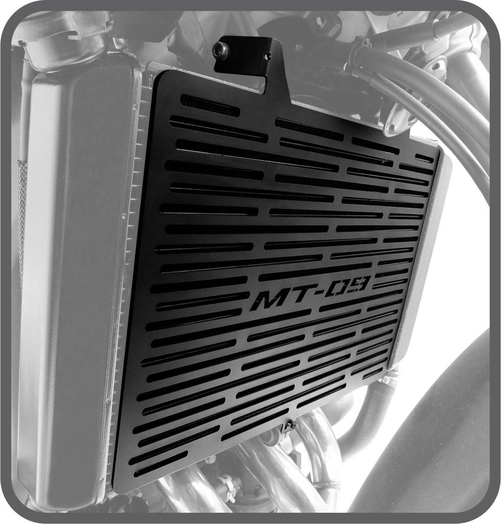 Protetor de Radiador para Yamaha MT09 2015 em diante - Scam