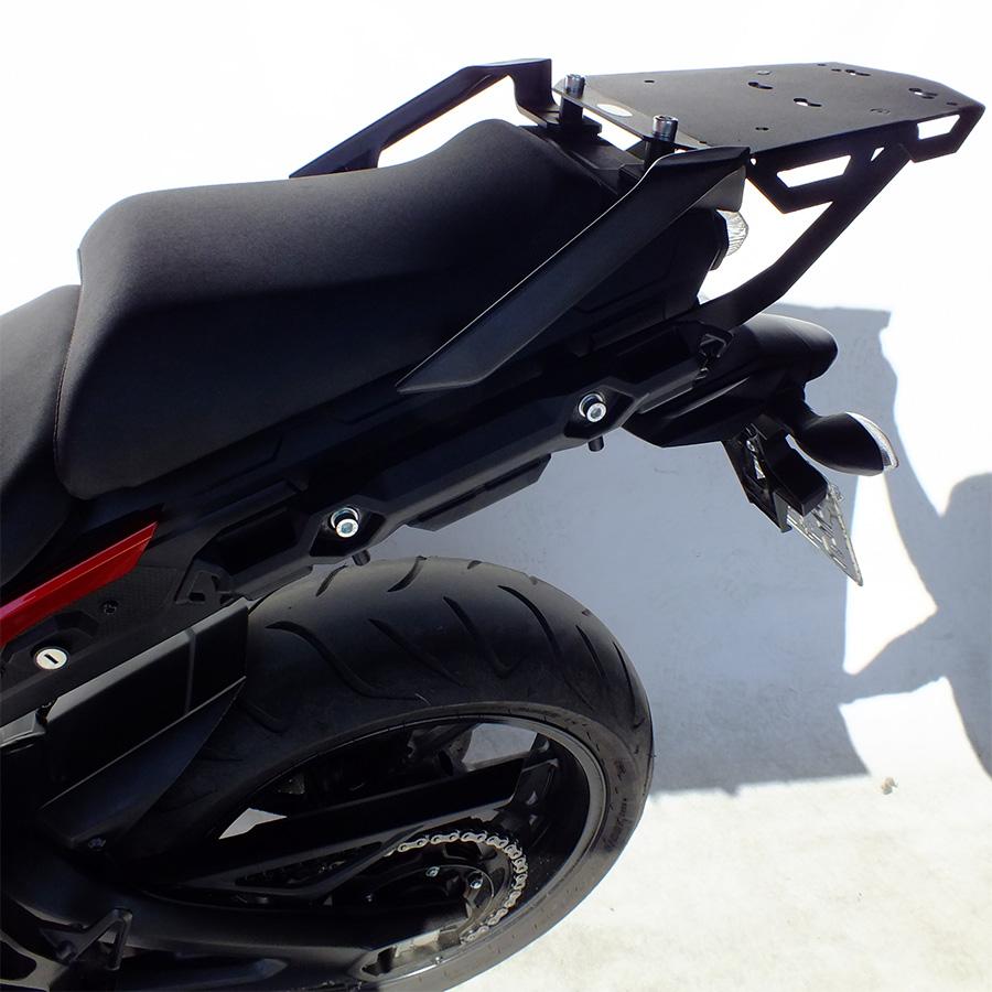 Bagageiro Suporte de Baú para Yamaha MT09 TRACER 2015 em diante - Scam