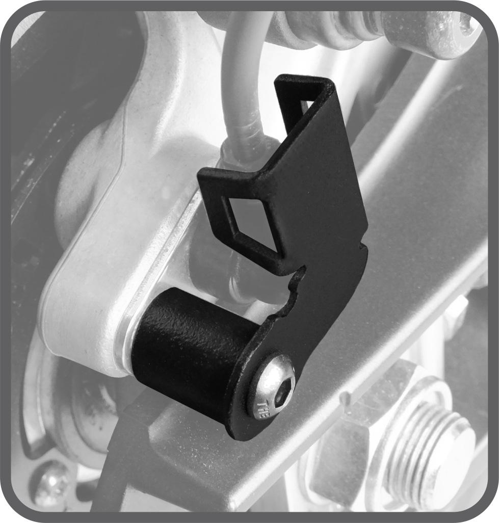 Protetor de Sensor ABS para Yamaha MT09 TRACER 2015 em diante (Somente Traseiro) - Scam