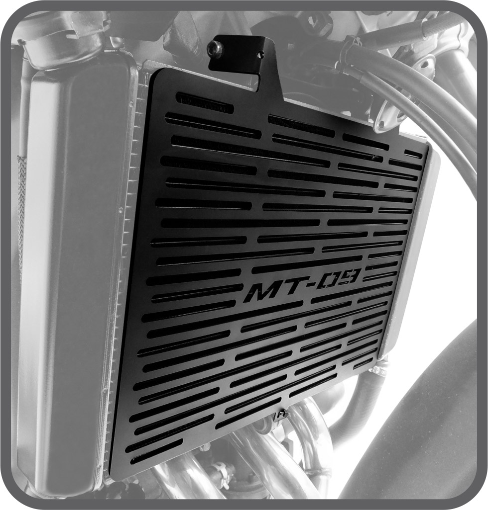 Protetor de Radiador para Yamaha MT09 TRACER 2015 em diante - Scam