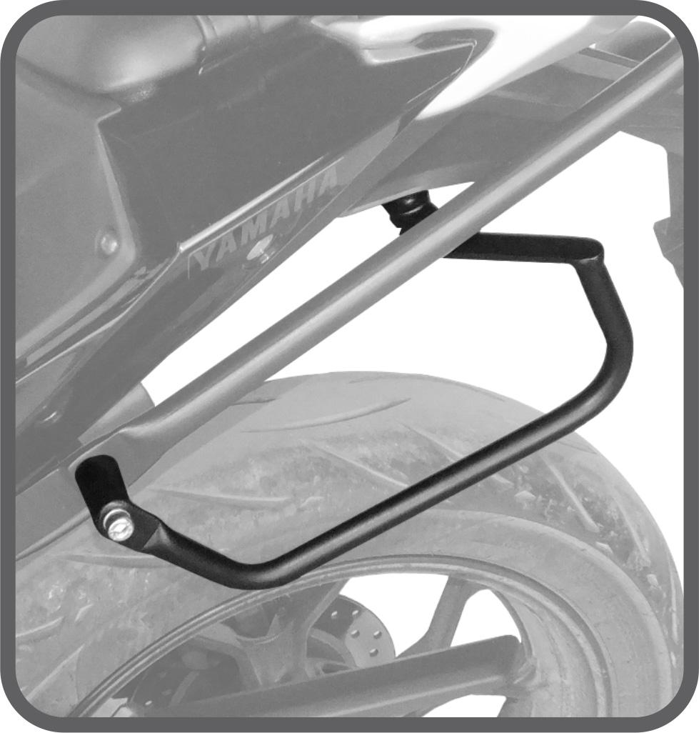Afastador de Alforje Tubular para Yamaha MT03 - Scam