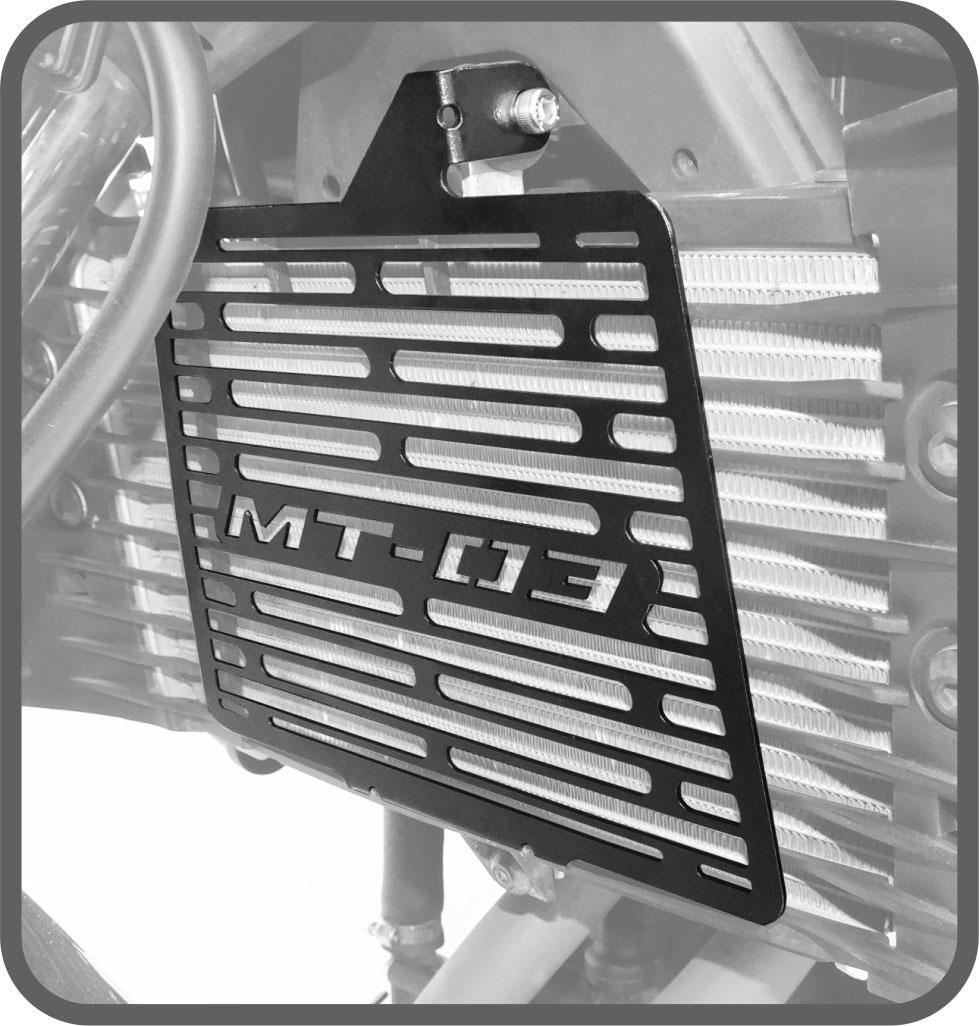 Protetor de Radiador para Yamaha MT03 - Scam