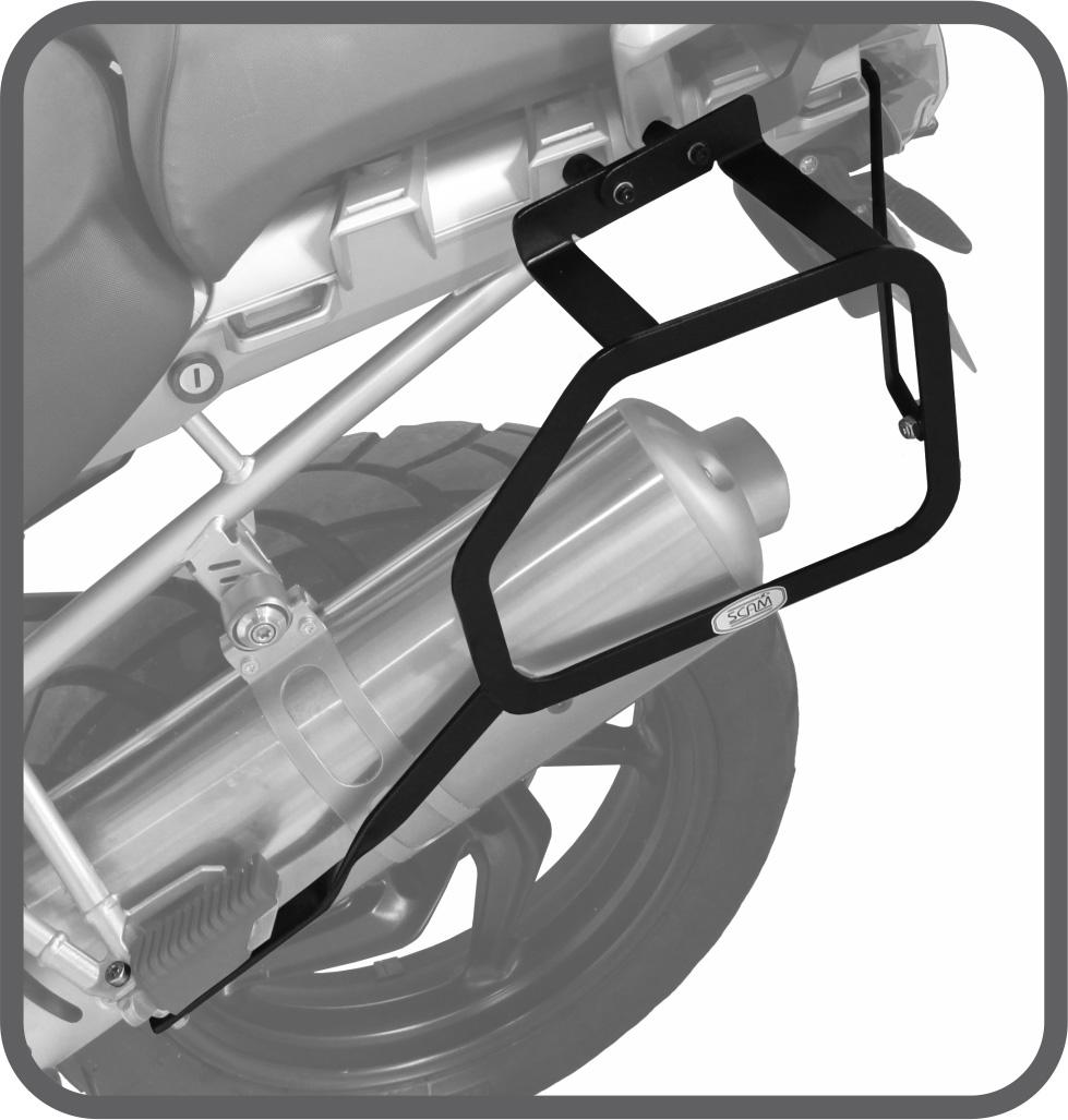 Afastador de Alforje para BMW R1200 GS - Scam
