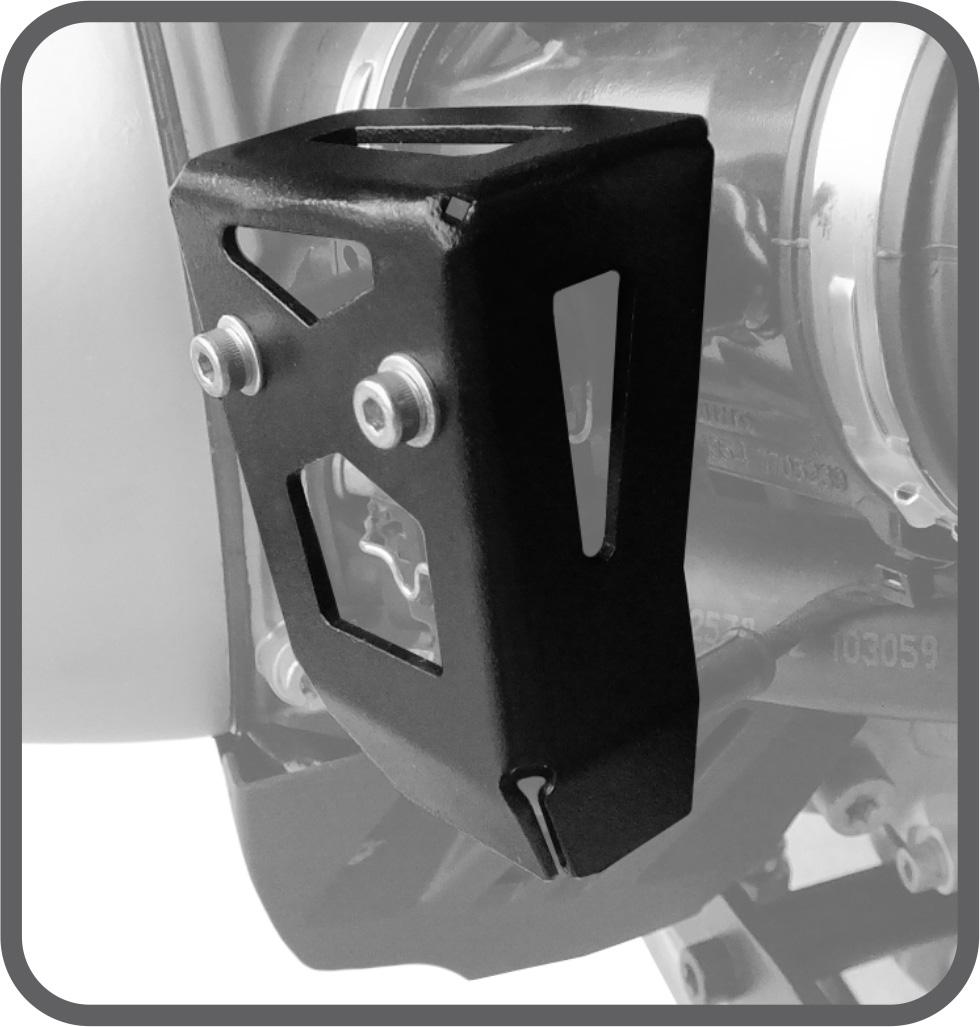 Protetor de Potenciometro para BMW R1200 R - 2004 a 2012 - Scam