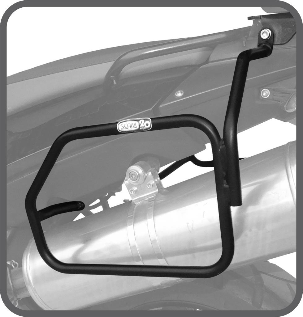 Afastador de Alforje Tubular para BMW F800GS - Scam