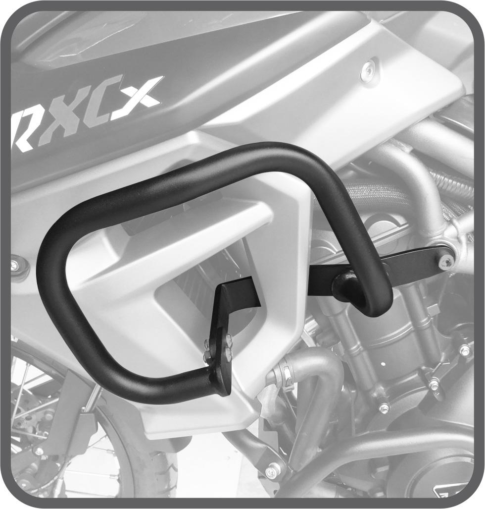 Protetor de Carenagem para Triumph Tiger 800 / XC / XR / XCX / XRX / XCA 2015 em diante - Scam