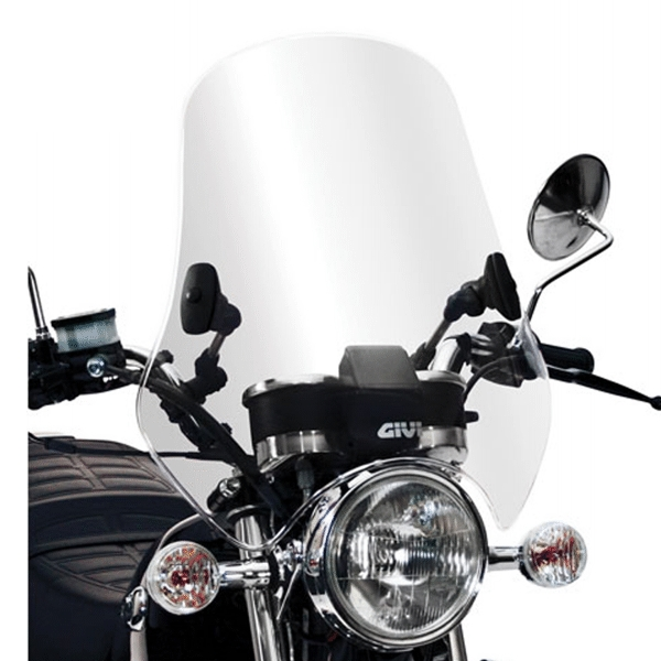 Bolha Parabrisa Universal A600BT Cristal - Givi