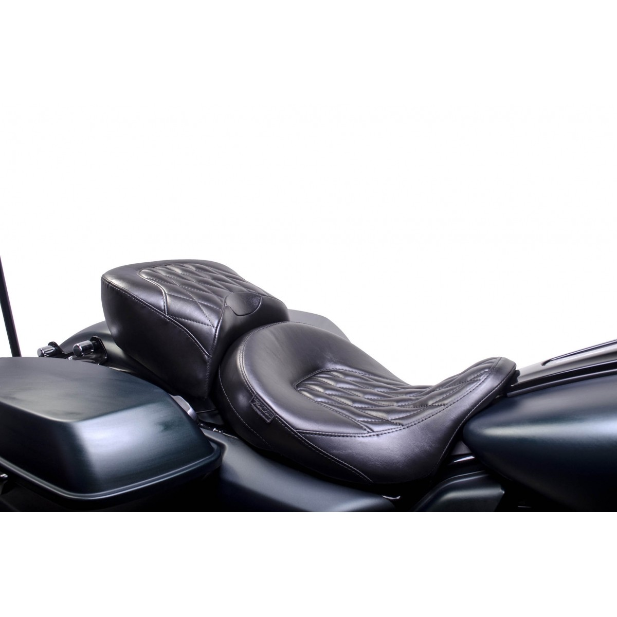 Banco Comfort Dianteiro e Traseiro Harley Davidson Touring Road King 08 a 17 - Pedrinho Bancos