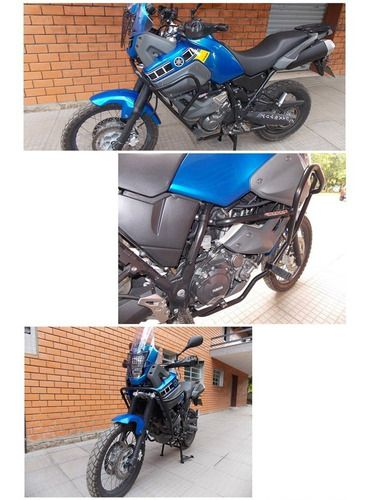 Protetor De Motor E Carenagem Chapam C/ Pedais - Tenere 660