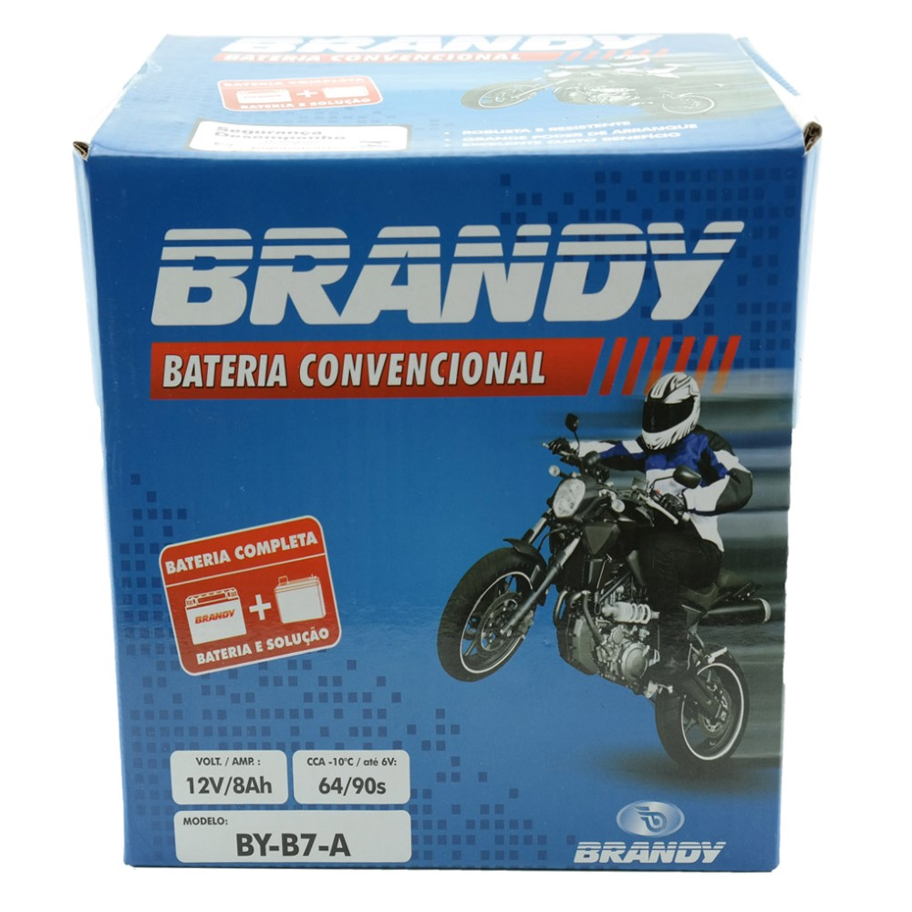 Bateria Brandy BY-B7-A Yes 125 / Intruder 125 / Katana / Kansas 150