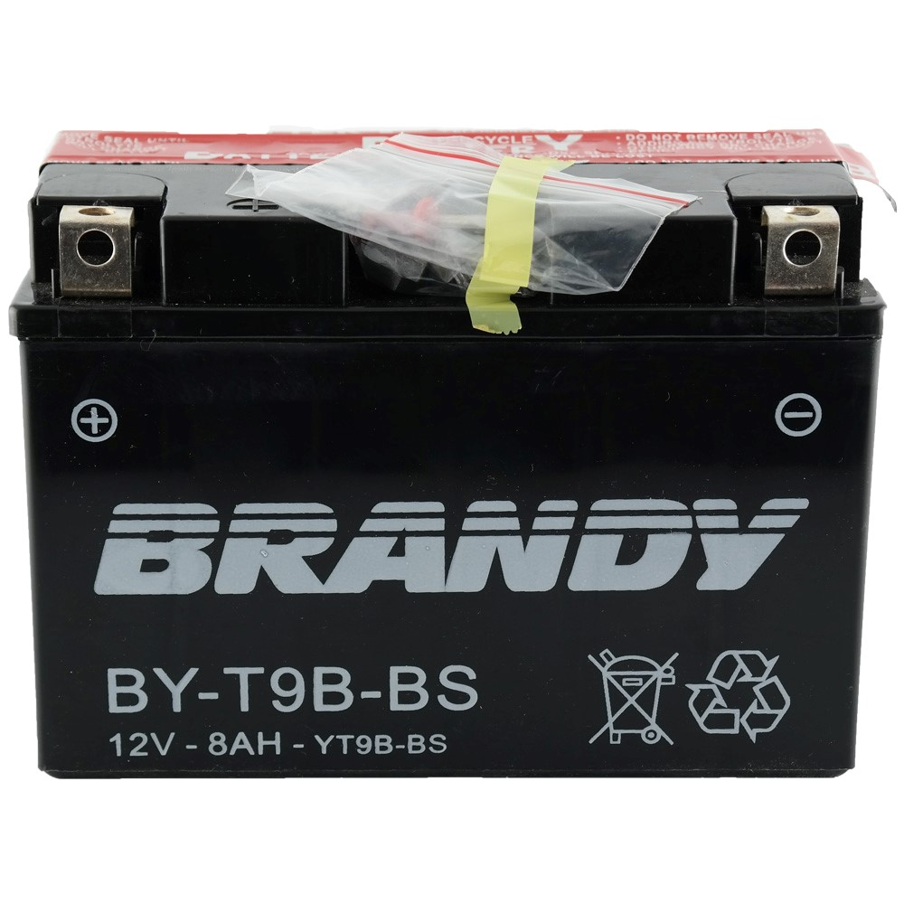 Bateria Brandy BY-T9B-BS XT660 / R6 / MT03