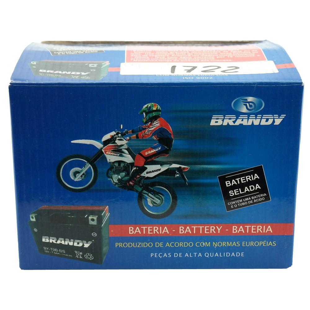 Bateria Brandy BY-T9B-BS XT660 / R6 / MT03