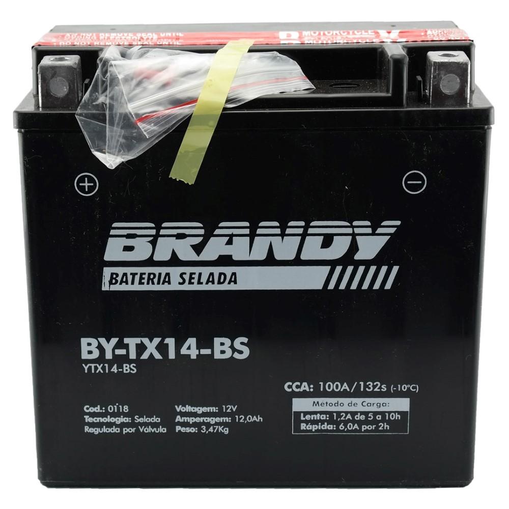 Bateria Brandy BY-TX14-BS Kasinski Comet / CBR1100