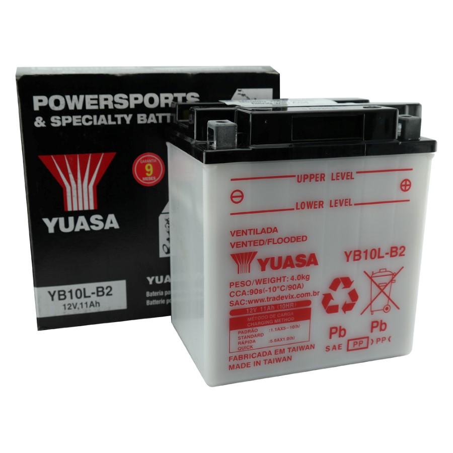 Bateria Yuasa YB10L-B2 GS500E / Kawasaki / GSX600F / Cruiser II