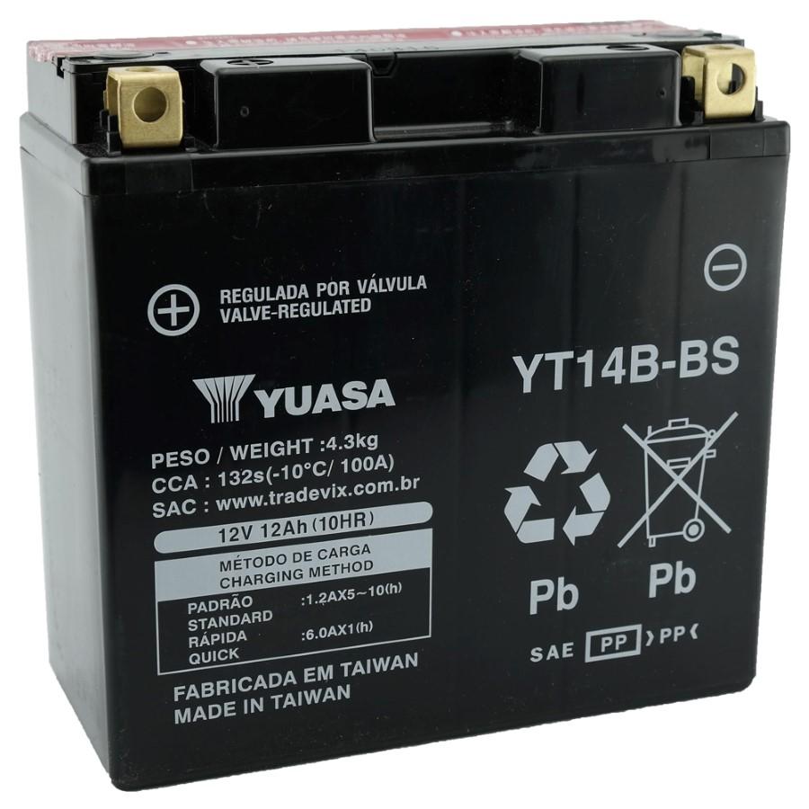 Bateria Yuasa YT14B-BS Drag Star 1100 / MT-01 (eu) 05-10