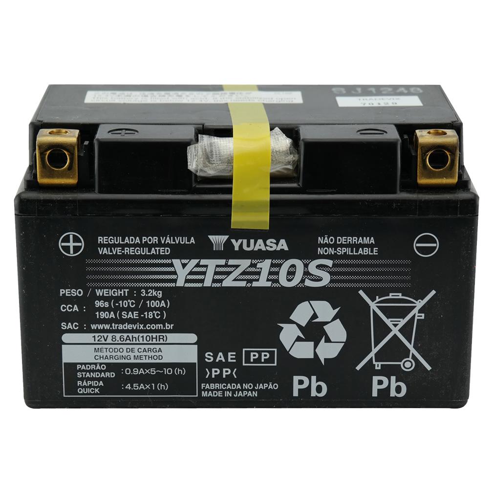 Bateria Yuasa YTZ10-S CBR600RR 01/06 / HORNET 08/2011 / CBR900RR
